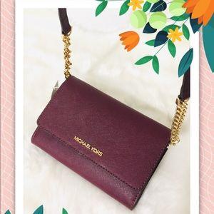 NWT Michael Kors phone case, wallet Crossbody bag